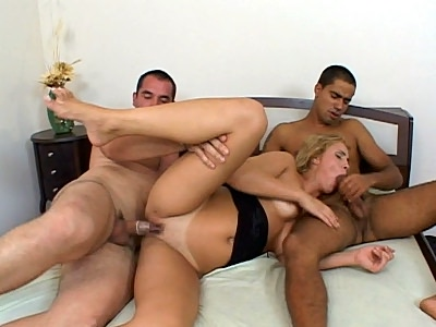 latin chick Heidi Cock Filled
